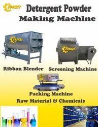 Detergent Powder Plant Making Formulation Consulting