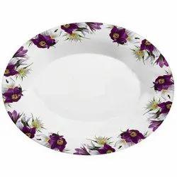 Melamine Oval Rice Plate