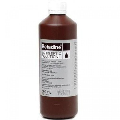 500ml Betadine Antiseptic Solution
