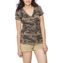 Womens Army Top