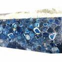 Blue Agate Semi Precious Stones
