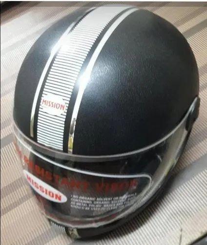 Black Madame Helmet
