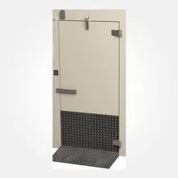 Hinged Steel Safety Door, for Commercial Building, Size: 7 X 3 Feet