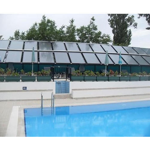 Manufacturer of solar water heater solar energy services - Heated swimming pool running costs ...