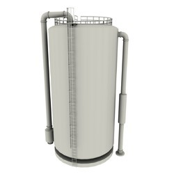 Metal Storage Tank, Capacity: 5000-10000 L
