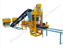 Concrete Brick Making Plant