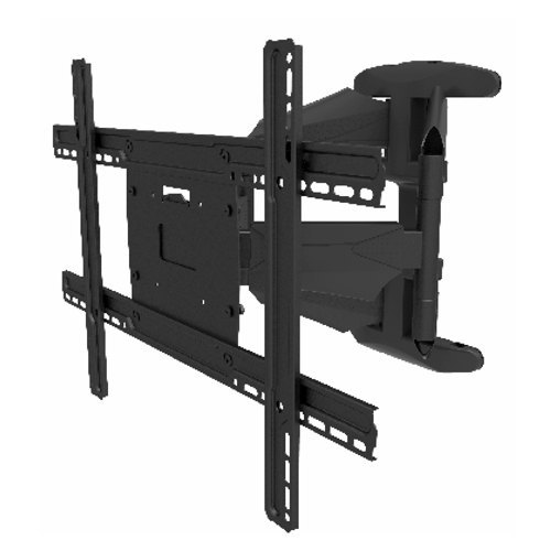 Black Mild Steel Swivel TV Wall Mount