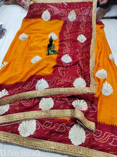 Chiffon Casual Wear Online Piliya Saree, Blouse Size: Full, 6.3 M (with Blouse Piece)