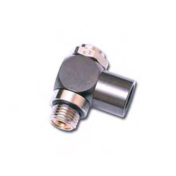 Self Sealing Male Stud Fitting BSPT Thread 3091