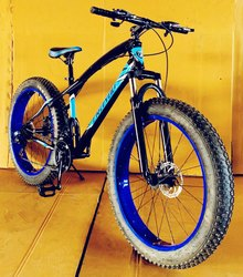 Spark Fat Tyre Mountain Bicycle