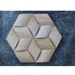 Hexagonal Stone Panel