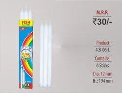 Plain Long Candles 4.6-06-L