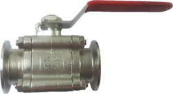 Triclover End Investment Casting Ball Valve