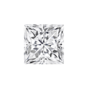 Princess Cut White Colorless Moissanite Stone