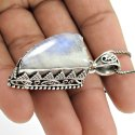 925 Silver Ruby Gemstone Pendant