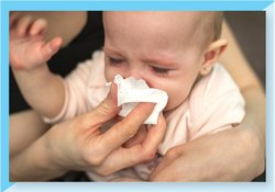 Cleaning Wipes (Dry Baby Running Nose)