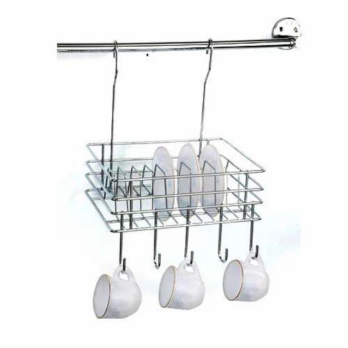 Hanging Plate Rack  sc 1 st  IndiaMART & Hanging Plate Rack at Rs 450 /piece | Kitchen Rack - Kitchen World ...
