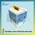 External Bamboo Knot Removing Machine