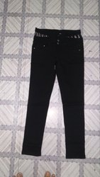 Ladies Stretchable Regular Jeans