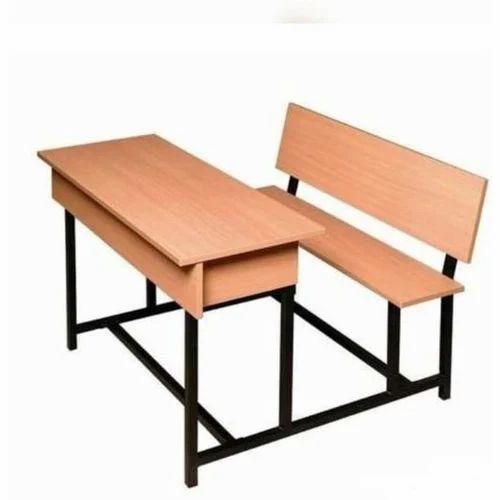 Surprising 2 Seater School Wooden Bench Beatyapartments Chair Design Images Beatyapartmentscom