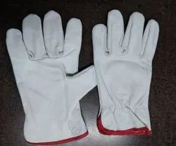 Crome Driving Leather Hand Gloves