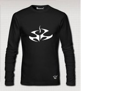 PrintexCo. Cotton Black Full Sleeve T Shirt
