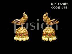 Traditional Peacock Designer Earrings