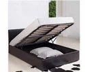 Cherry Wood Black Box Bed