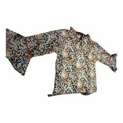 Ladies Full Sleeve Printed Top