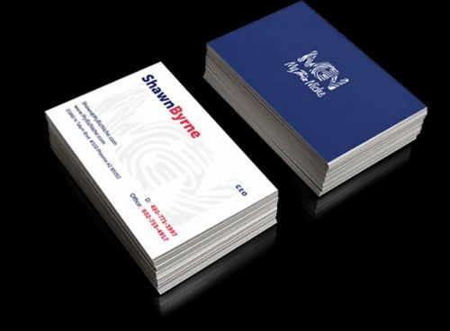 Business Card Designing and Printing Services