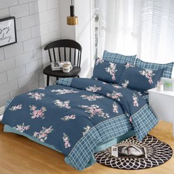 Soft On Floral Print Bed Sheet