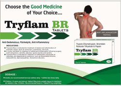 Trypsin-Chymotrypsin, Bromelain Rutoside Trihydrate and Papain Tablets
