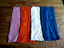 Dyed Hosiery Lycra Ladies Scarves 28 x 72