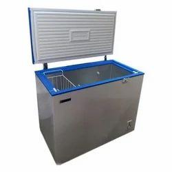 100 LTR Blue Star Chest Deep Freezer, Top Loading, Single Door