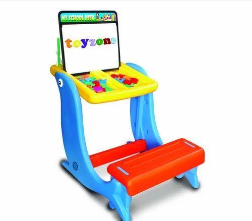 Wonderful Toyzone 4 In 1 My School Desk