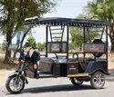Godawari Black Battery Operated G-one Plus Electric Rickshaw