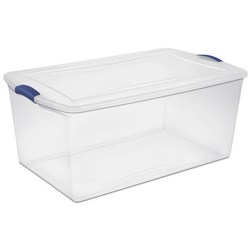 Plain Rectangular Storage Container Capacity 1 Kg Rs 56 piece