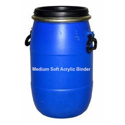 Ester and Solvents Industrial Grade Medium Acrylic Binder, Packaging Type: Barrel