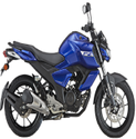Black, Blue Two Wheeler, Fz