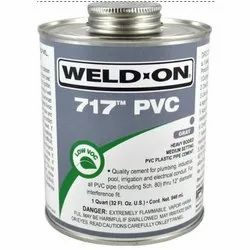 Weld On 717 PVC Adhesive Solution, 473ml and 946ml