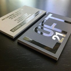 Paper Digital Spot UV Business Card