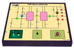 Time Delay Using IC Trainer