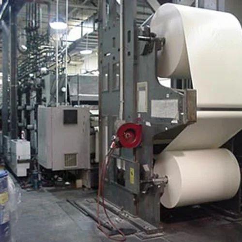 Web Offset Newspaper Printing Machine Blue Print Line