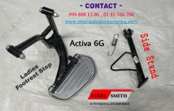 Ladies Step & Side Stand For Activa 6G