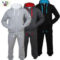 1c2487f7 Dark Grey And Black Small And Medium Mens Fleece Plain Tracksuit, Rs ...