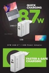 87W USB C USB Power Adapter