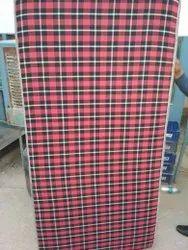 红色泡沫床垫,为家,厚度:4英寸