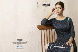 Chambor Vol-03 Designer Kurti and Palazzo Set