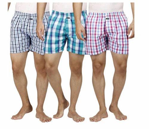Cotton Regular Wear Inspire Assorted Pack Of 3 Men  s Boxers eff0614590c0