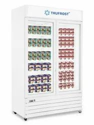 Two Door No-Frost Visi Freezer